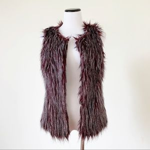 Anthropologie Chelsea & Violet Faux Fur Vest